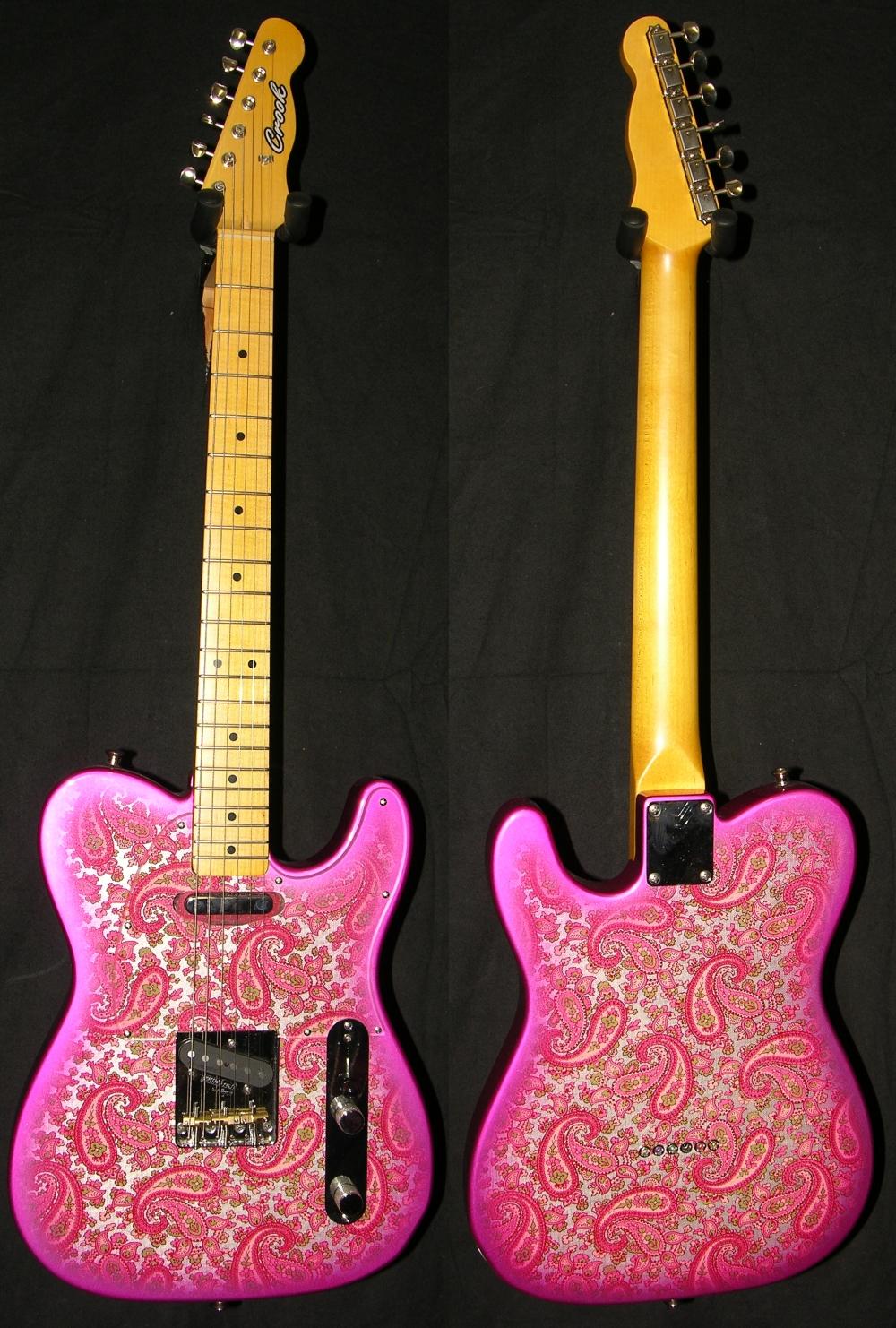 paisleys crook custom guitars. Black Bedroom Furniture Sets. Home Design Ideas