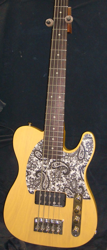Big T Butterscotch 5-String Bass