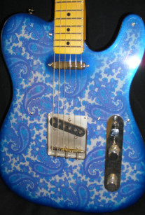 Blue Paisley