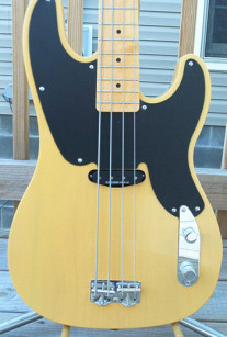 Butterscotch T-Bass