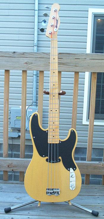 Butterscotch T-Bass