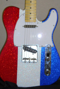 Red White and Blue Sparkle