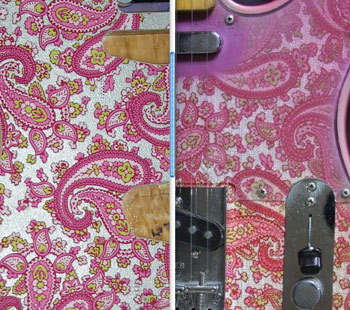 Vintage Pink Paisley Side by Side