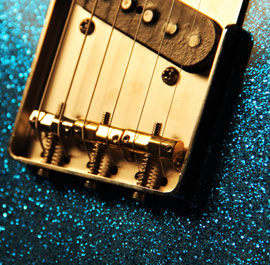 Water Blue Sparkle T-Style