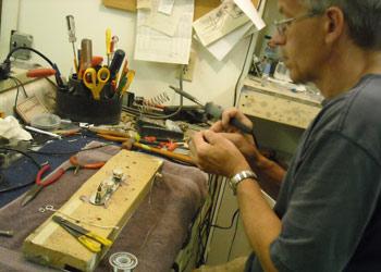 Bill Crook at Crook Custom Guitars