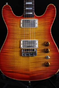 Cherry Sunburst Double Cutaway