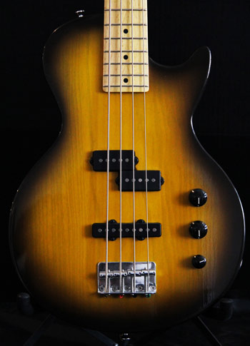 Short Scale Bass Crook Custom Guitars