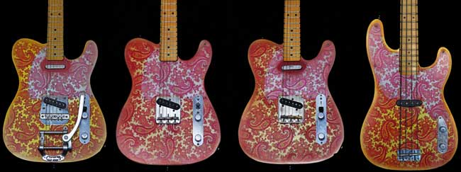 Crook Pink Paisley Guitars for Sale and Order