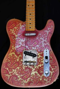 Pink Paisley T-Style Crook Body