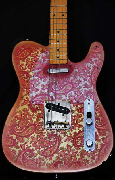 Pink Paisley T-Style for Sale Body