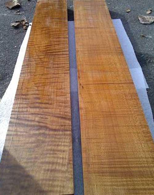 Baked Maple Roasted Maple Blanks