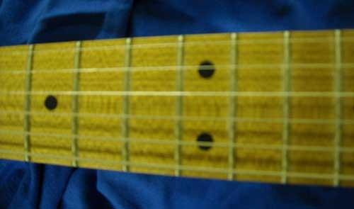 Baked Maple Roasted Maple Fretboard