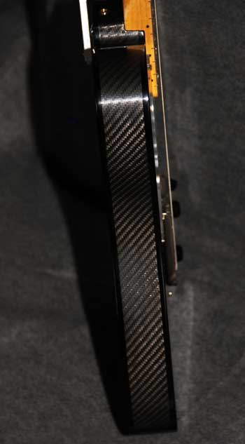 Carbon Fiber Body Side Crook Guitar
