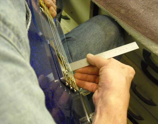 Adjusting Pickups Crook Custom Guitars