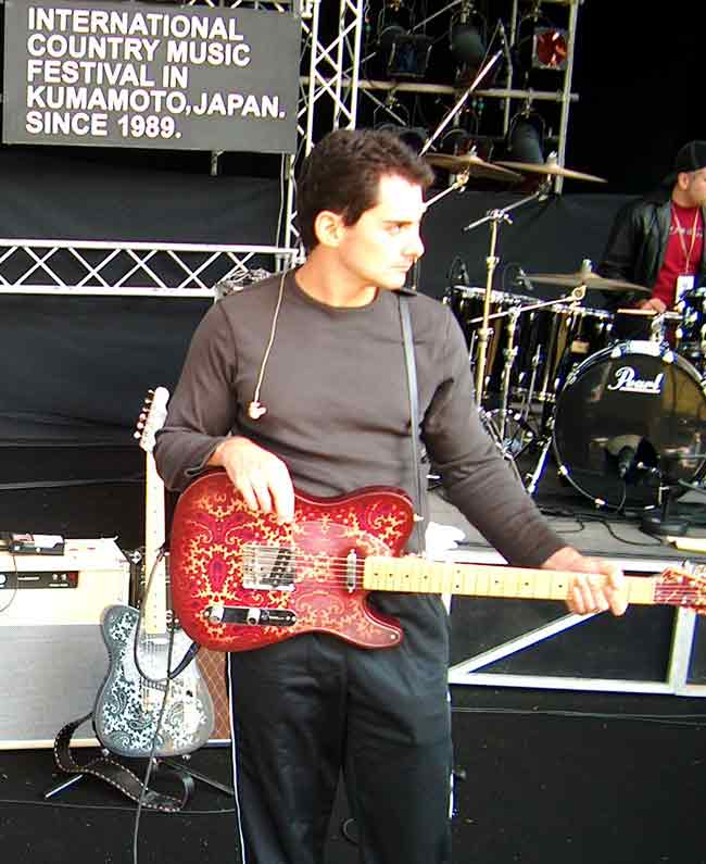 Brad Paisley Crook Guitars Gear Maroon Paisley