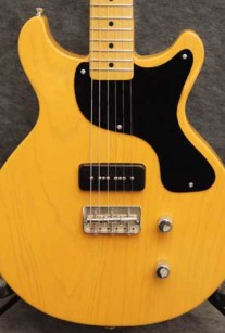 TG DoubleCut Butterscotch Crook Custom Guitars